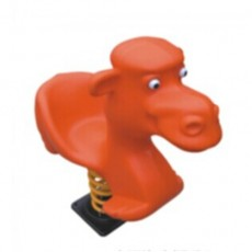 Cartoon Manatee Spring Horse (LJ-0502)