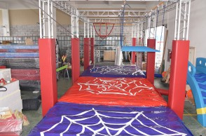 Taiwan Ninja Course-6 projects Size:20m*8m