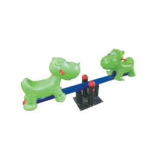 New Design Outdoor Playground Rhino Seesaw (LJ-6504)Powered