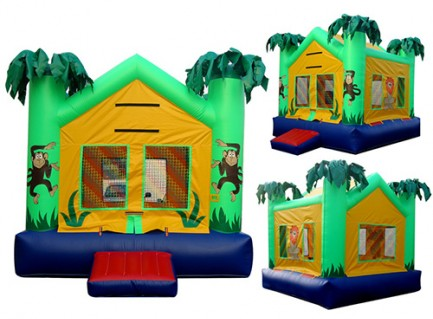 New Inflatable Bounce Playground House with Slide(C1292-6)